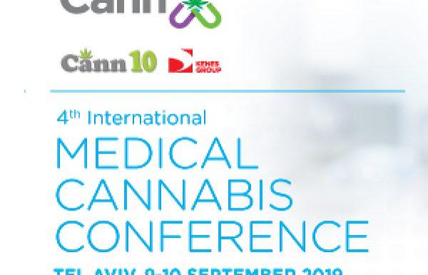 כנס CannX: The 4th International Medical Cannabis Conference  | אקספו תל אביב  9-10/09/2019