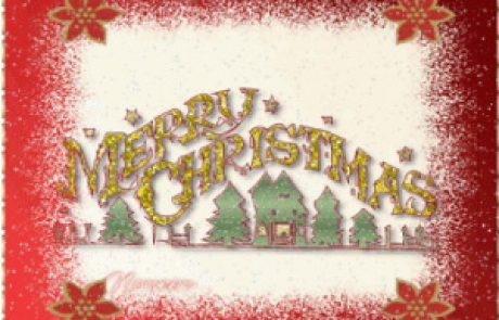 ברכות לחג לכל חברינו / חברותינו הנמנים עם העדות הנוצריות.