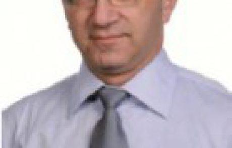 """מינוי מגר' ישראל חלד לתפקיד יו""""ר סניף תל אביב"""